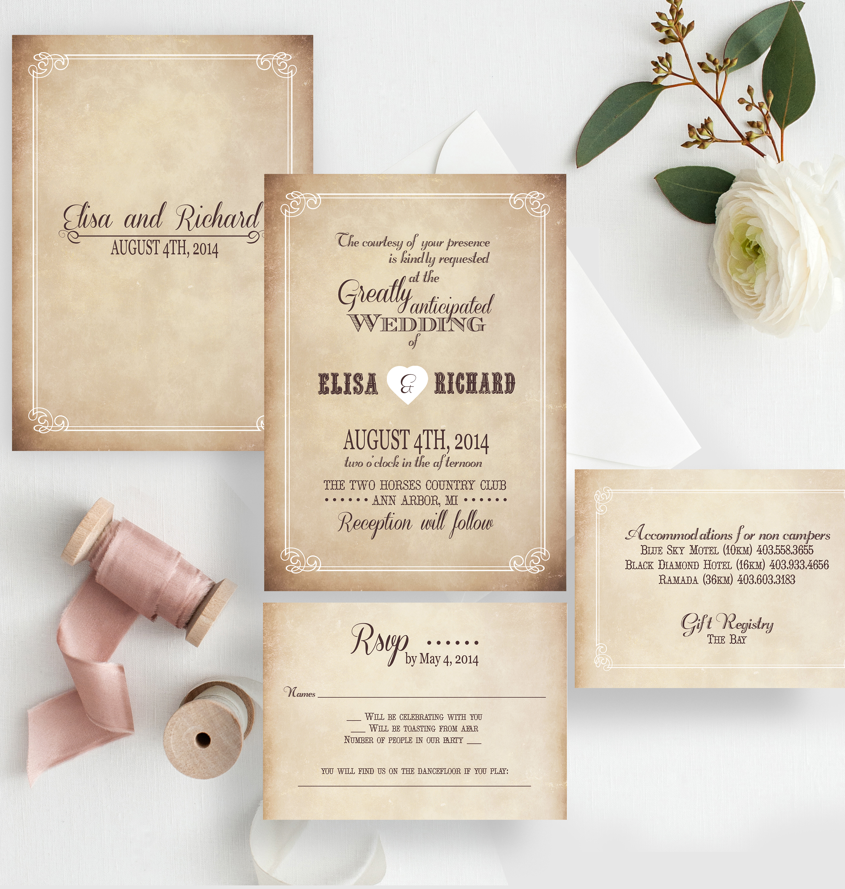 Wedding Invitations – Baton Rouge