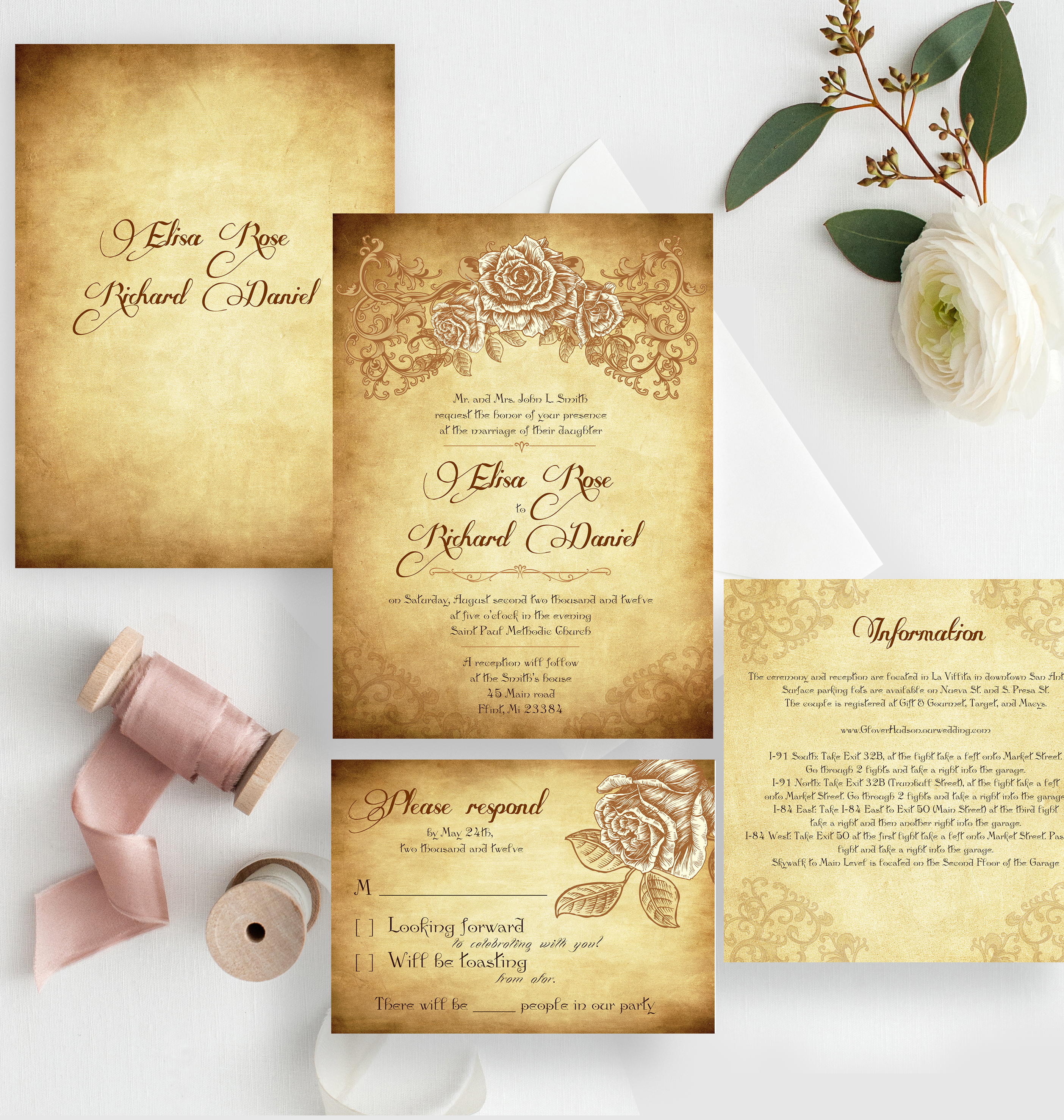 Wedding Invitations CHICAGO
