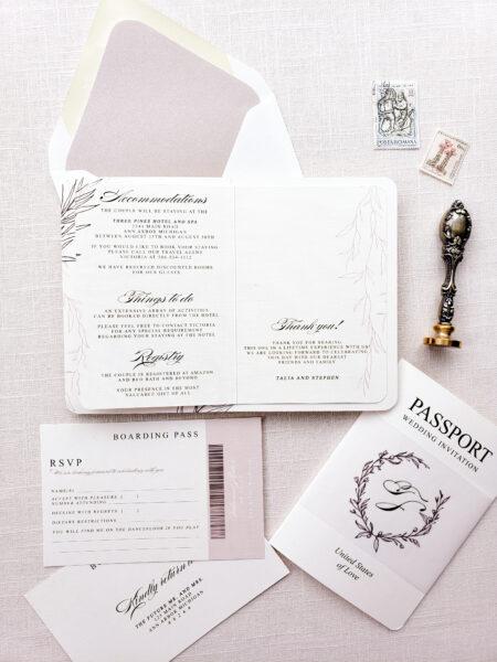 wedding passport