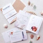 wedding invitation sample passport