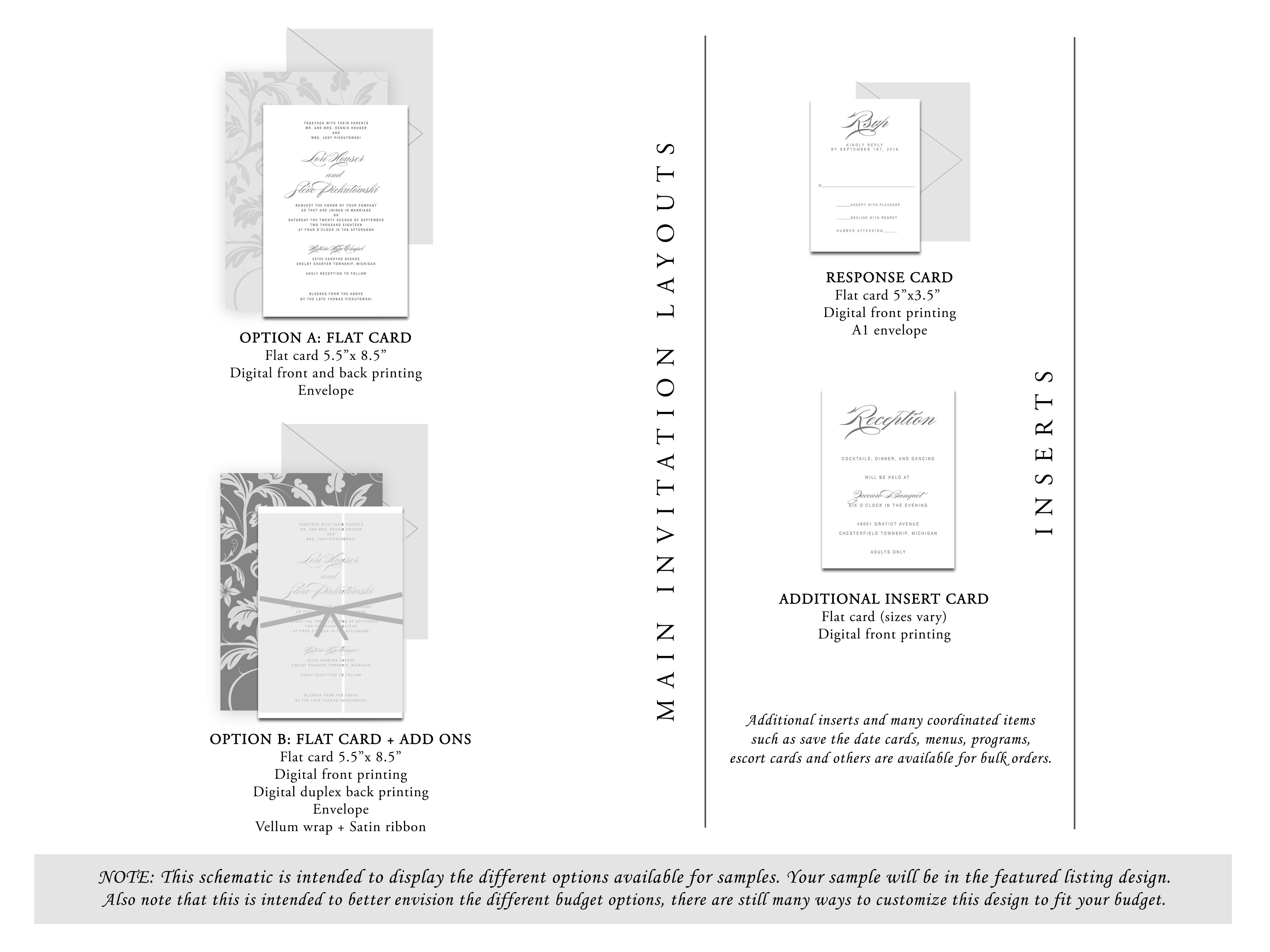 Wedding Invitations Manchester: Dark Moody Wedding Invitation {Manchester Design}