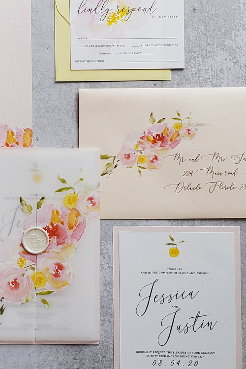 How to set up your guest list and address your wedding invitations