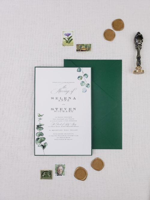 eucalyptus invitations