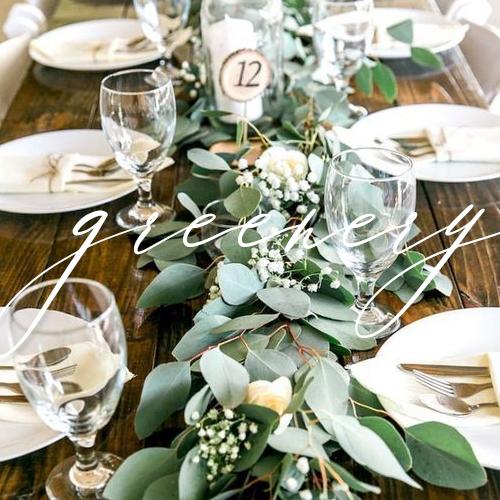 wedding invitations greenery