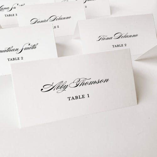 place cards multiple