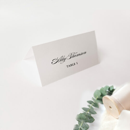 placecard single