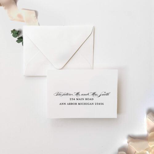 response card address