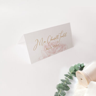 blossomed placecard