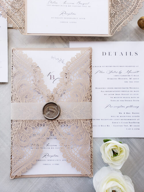 laser wedding invitations