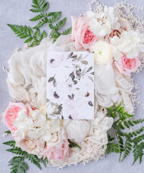 sage wedding card