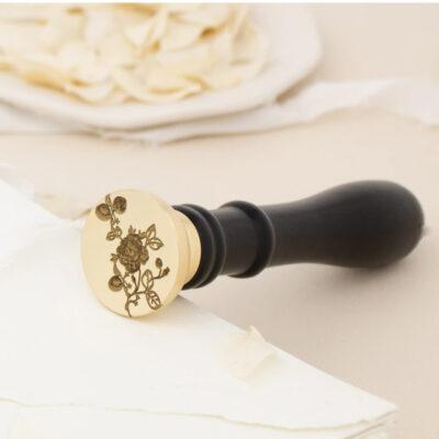 laceyrose wax stamp