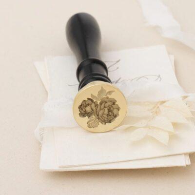 vintagep wax stamp